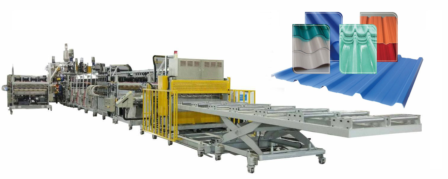PP/PE 3 kind material 5 layer Sheet Co-extrusion Line