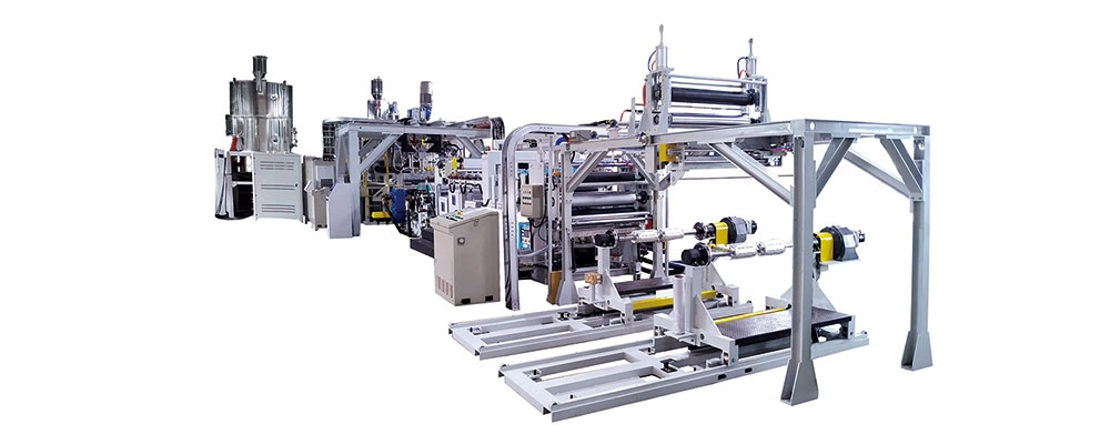 PET PLA PP PS板材押出生產線