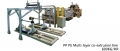 PP  PS Multi-layer co-extrusion line