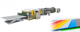 PP Hollow Profile multi-layer co-extrusion line